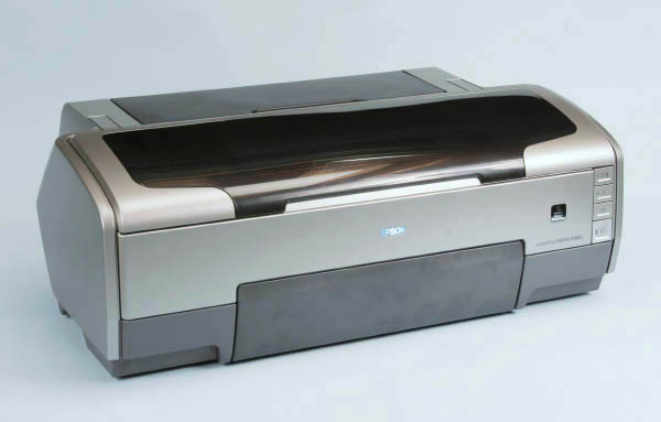 Heres The Printer Itself With All Covers Closed